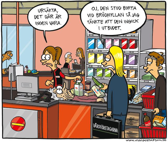 Om att se människor som konsumtionsvaror. Av Max Gustafson.