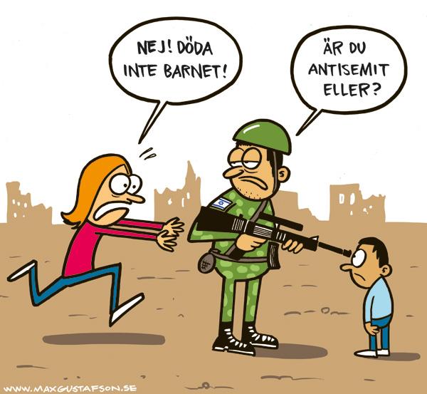 Guilt by association-argumentationens infekterande inverkan på Israel-Palestina-konfilken. Av Max Gustafson.